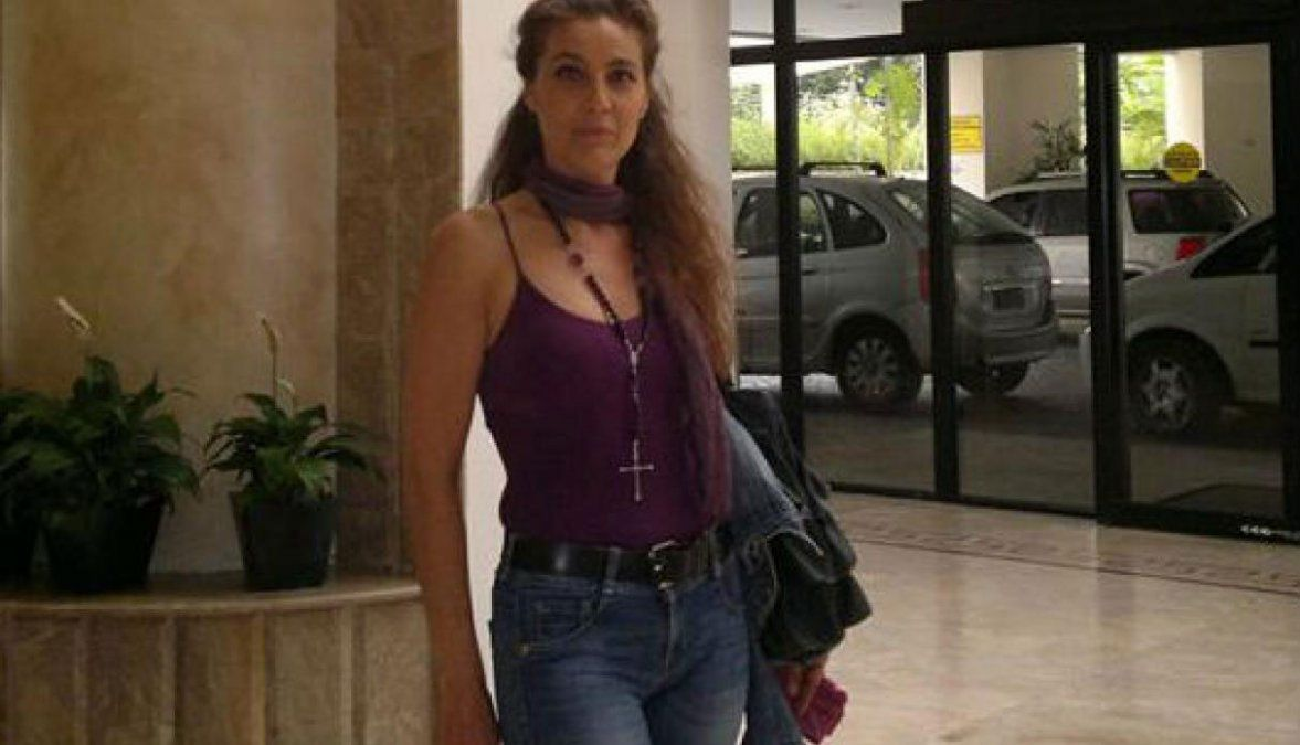 Claudia en una de sus últimas fotos públicas