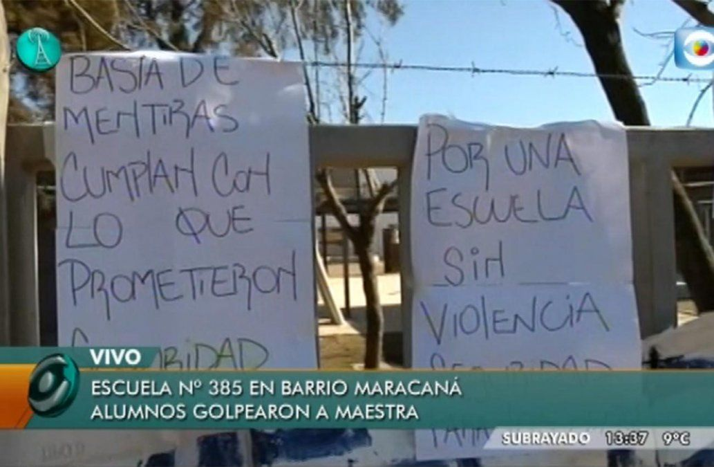 Maestra fue agredida por dos alumnos y padres reclaman que sean expulsados