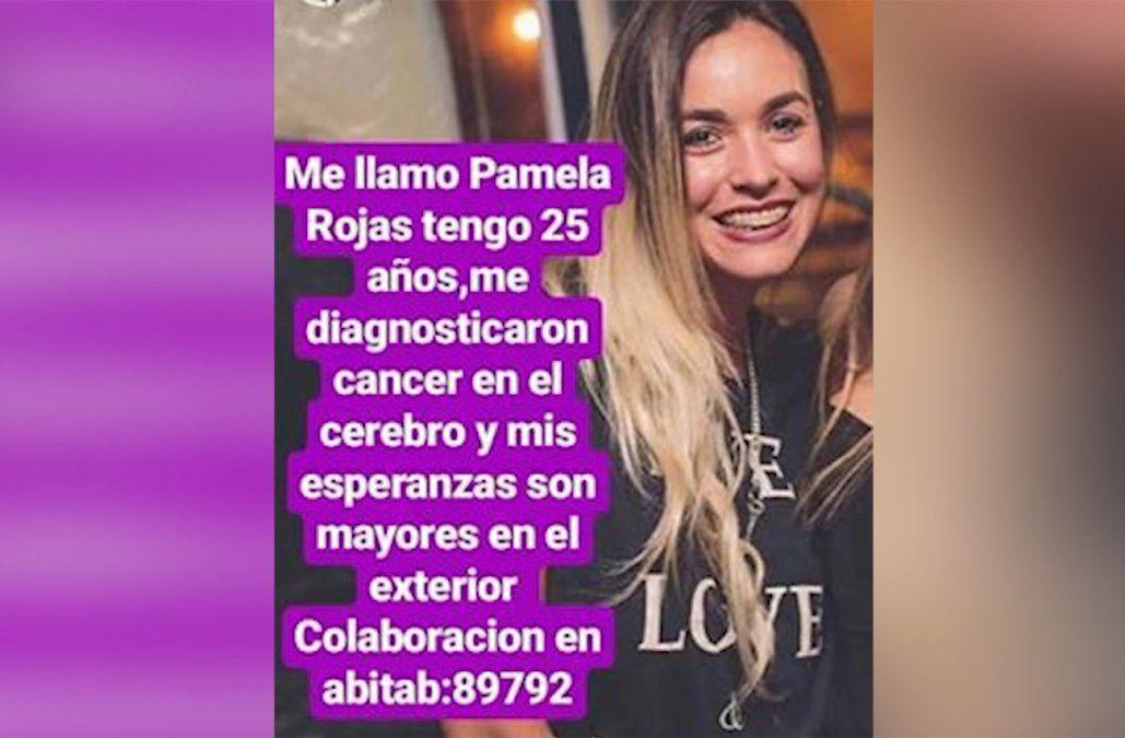 Pamela tiene un tumor cerebral y necesita 60.000 dólares para tratamiento en Brasil