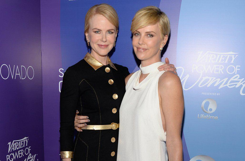 Nicole Kidman y Charlize Theron en un filme sobre acoso sexual en Fox News