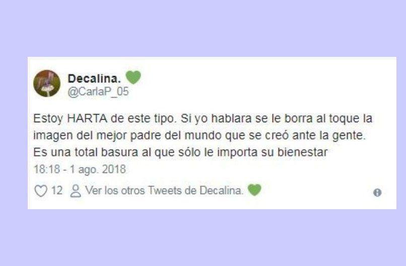 Los tweets de Carla Pastorizzo