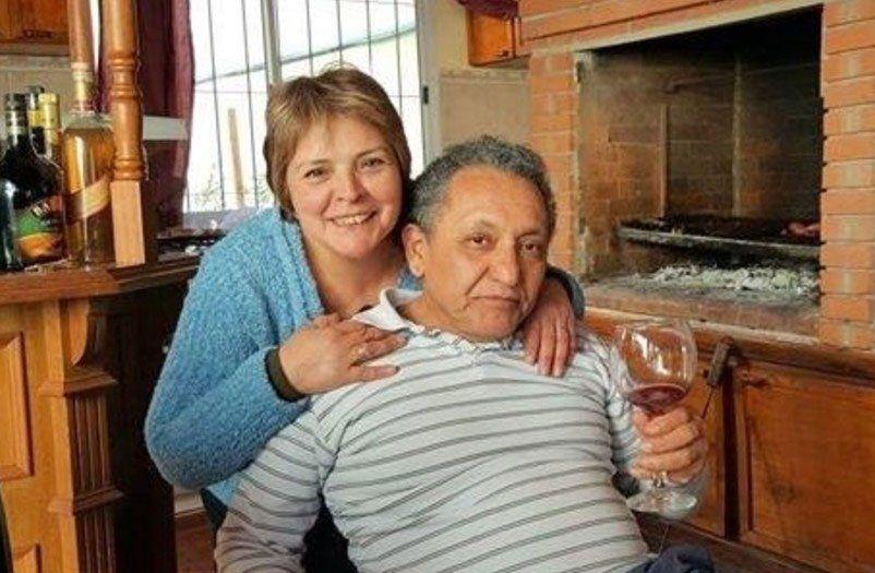 Hilda y Oscar en los buenos tiempos. La relación duró 9 años. Terminó con denuncias de violencia.