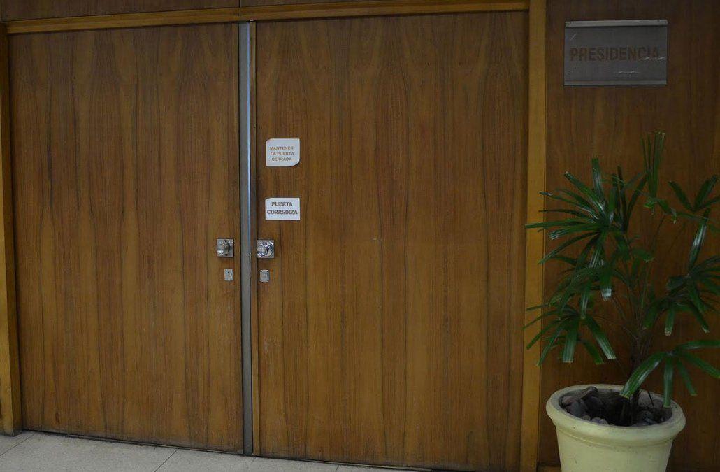 El despacho de la presidencia de la AUF. Todavía no está definida la elección.