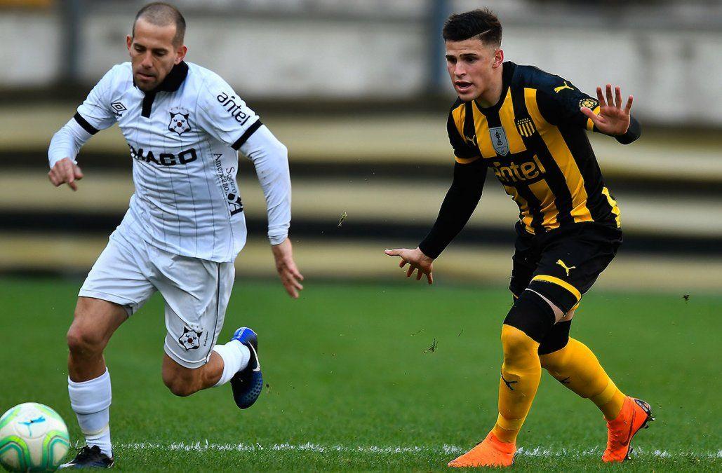 Con goles de Fabián Estoyanoff y Gabriel Fernández, Peñarol le ganó 3-0 a Wanderers