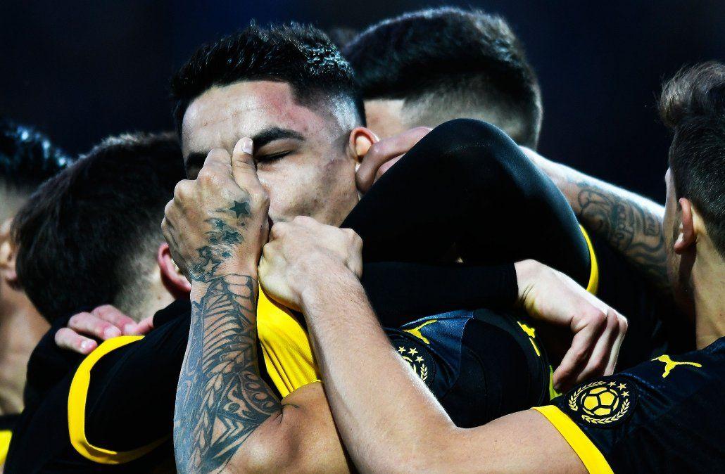 El Toro Fernández entró desde el banco y cerró el partido para Peñarol ante Wanderers.