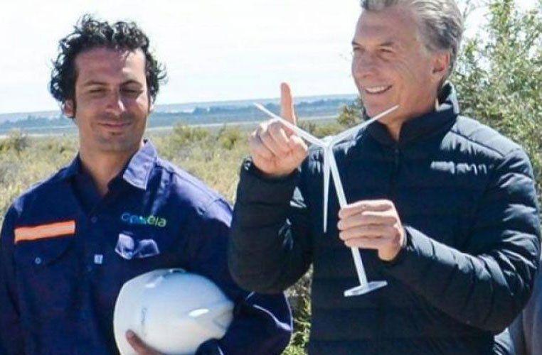 Ángelo Calcaterra y el Grupo Macri fueron socios en parques eólicos concesionados por el Estado y luego revendidos a otras empresas.