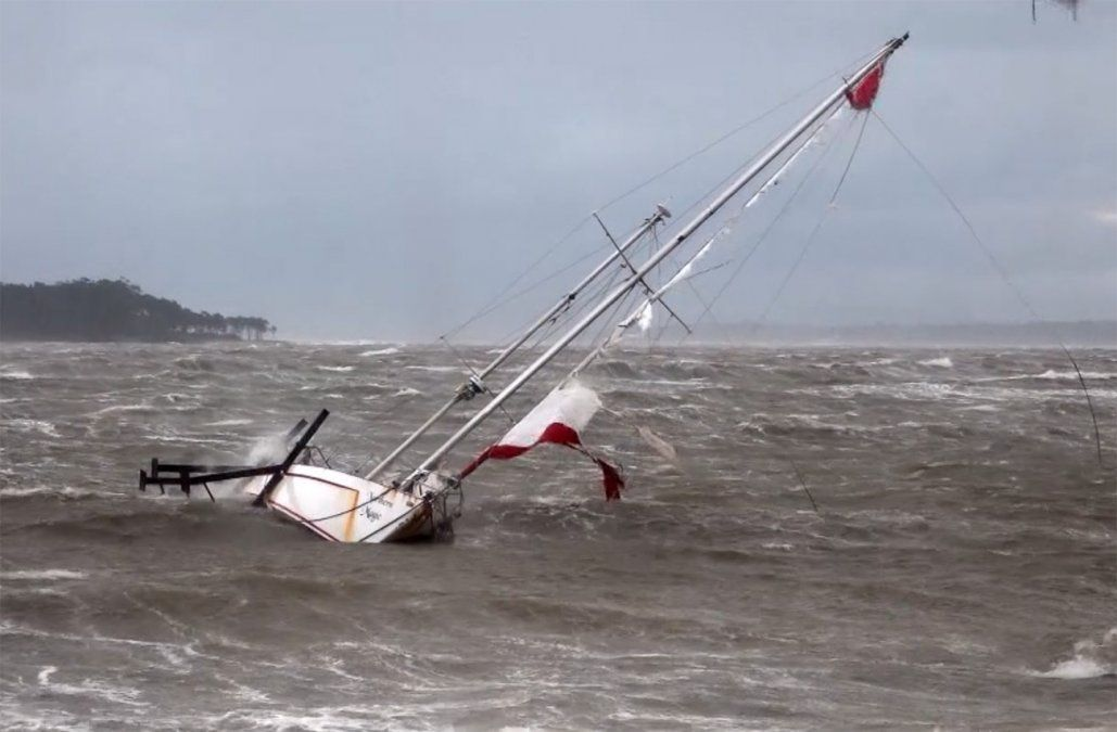Advierten por vientos fuertes en la costa sur desde el miércoles