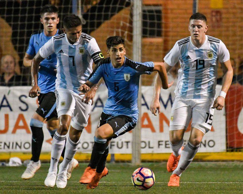 Selección uruguaya Sub-20 perdió semifinal con Argentina por penales