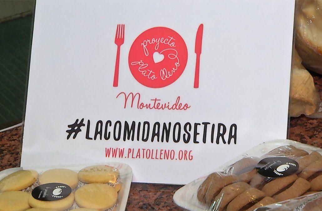 Plato lleno rescató en un año más de 7 toneladas de alimentos en Uruguay