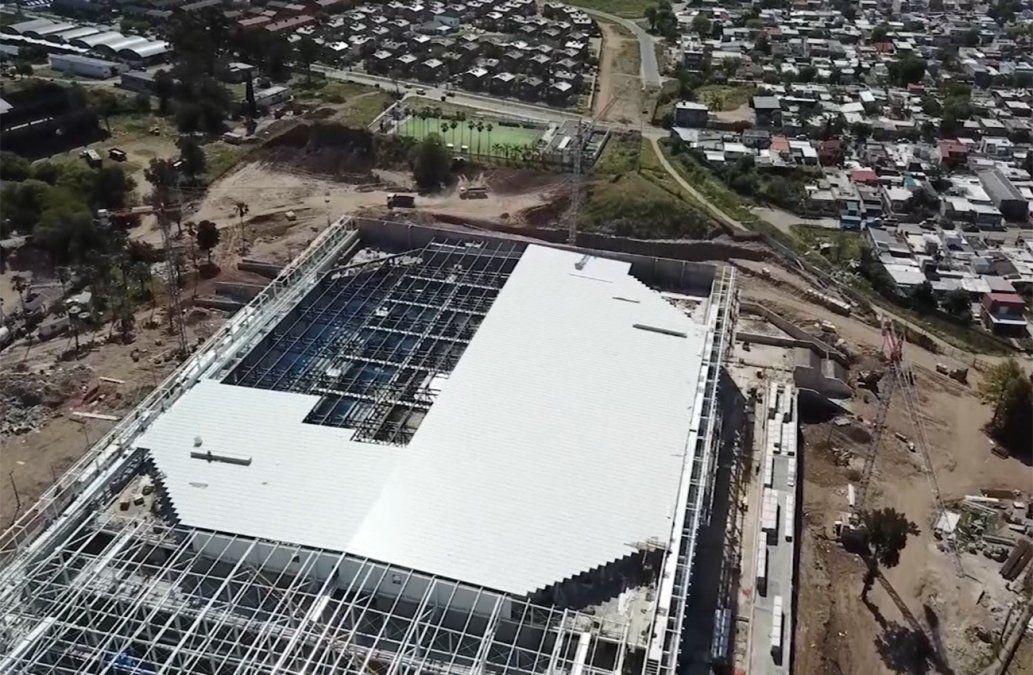 El SUNCA paralizó las obras en el Antel Arena por conflicto con empresa tercerizada