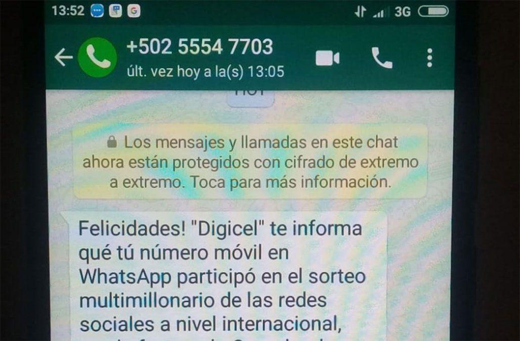 Policía advierte de una nueva estafa que se viraliza por Whatsapp
