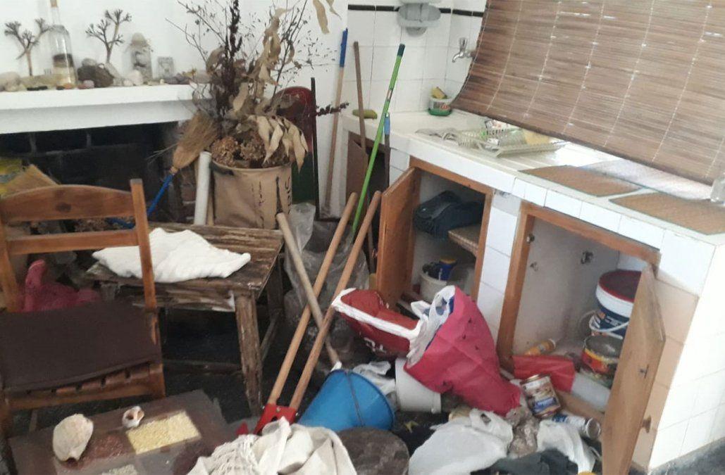 En medio del temporal desvalijaron seis casas del balneario Santa Ana