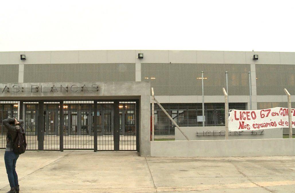 Ocupan Liceo 67 de Piedras Blancas en reclamo de vigilancia