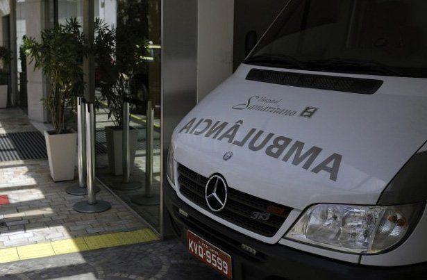 Una mujer es herida por una bala perdida dentro de un hospital