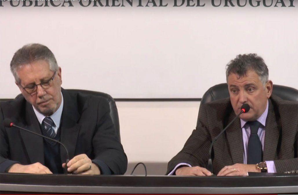 El Ministerio del Interior fue determinante en la contratación de cámaras para la AUF