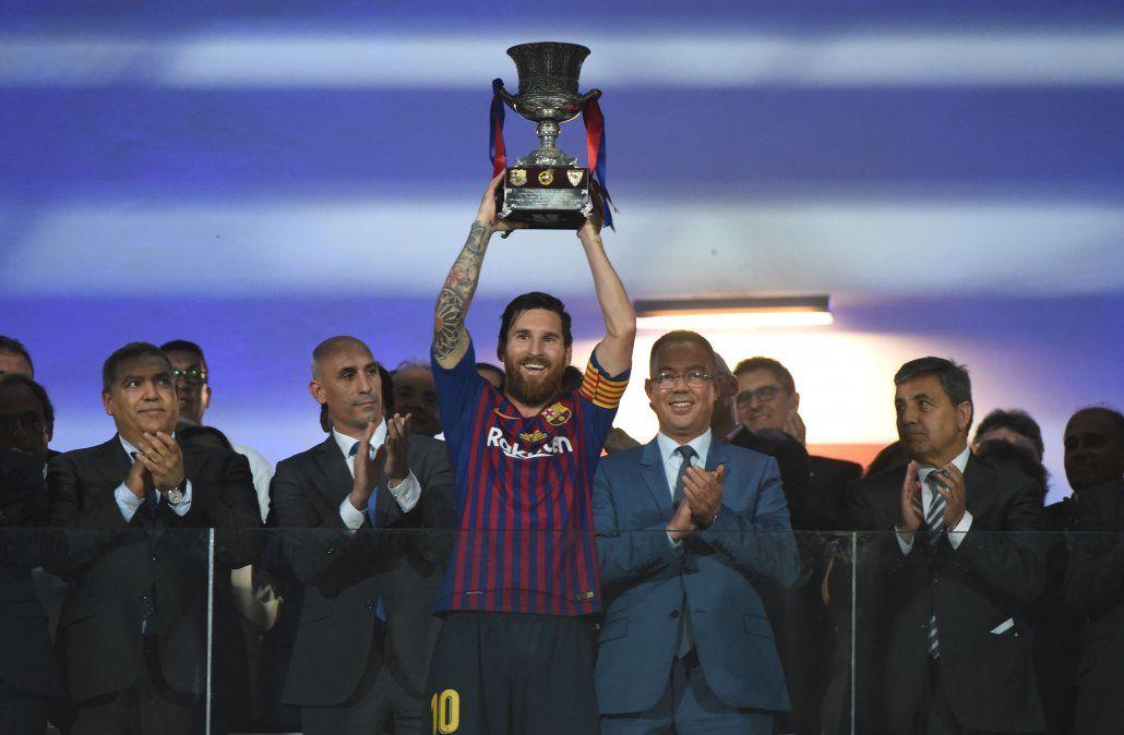Messi ya es el hombre con más títulos en la historia del Barcelona