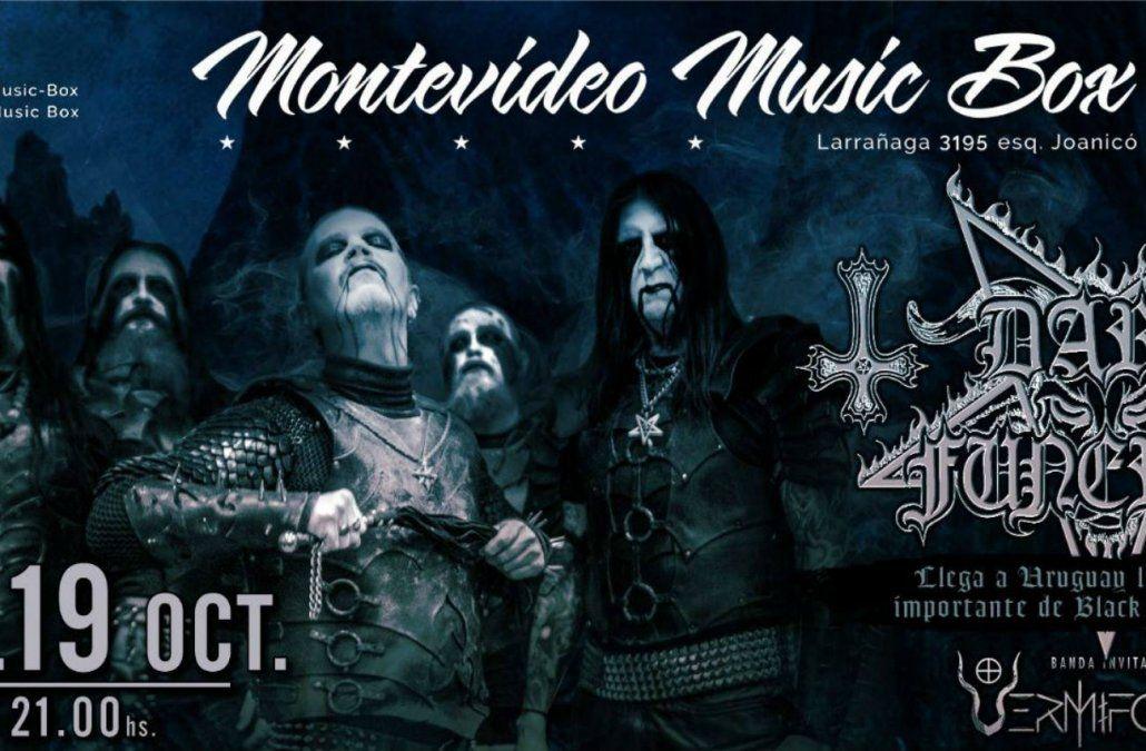 Dark Funeral llega a Uruguay con Shadows Over Latin America Tour 2018