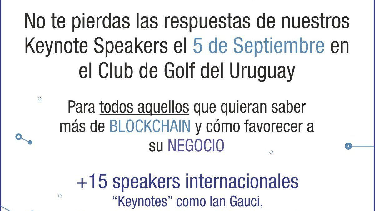 Se viene el primer gran evento Blockchain Summit UY en Montevideo
