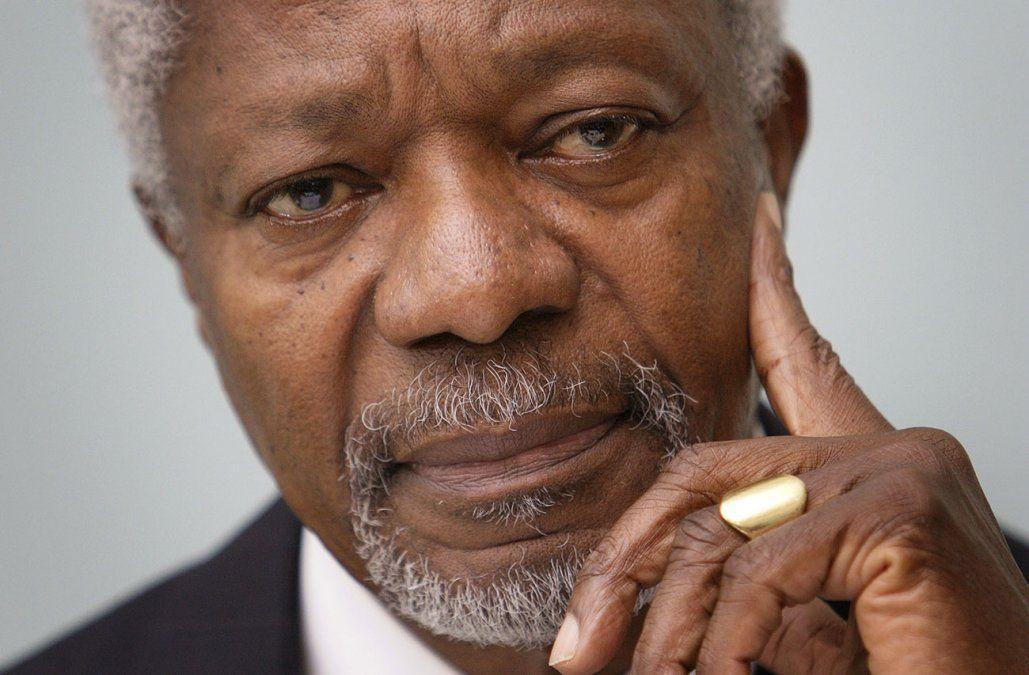 Uruguay lamenta la muerte de Kofi Annan, exsecretario general de la ONU y Nobel de la Paz