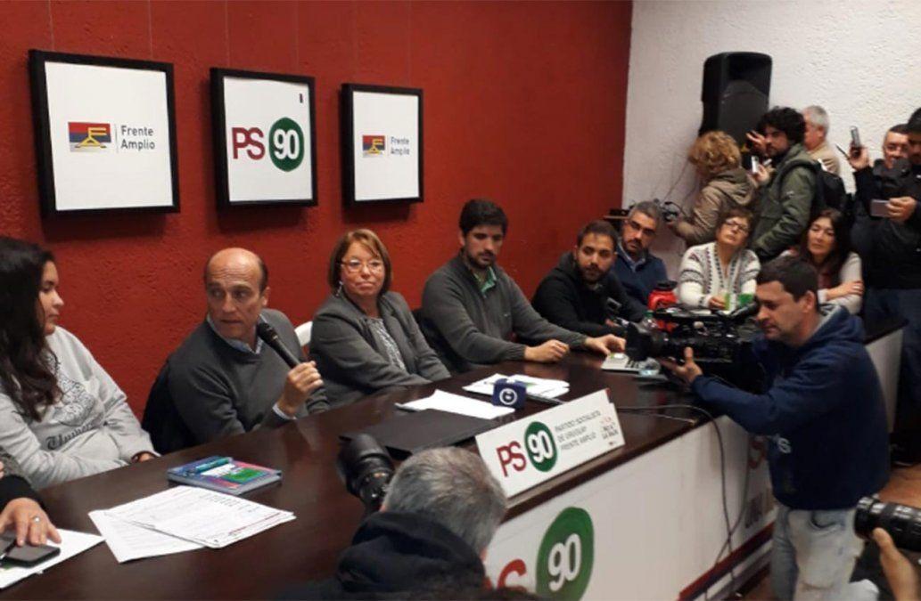 Partido Socialista oficializó el respaldo a la precandidatura de Daniel Martínez
