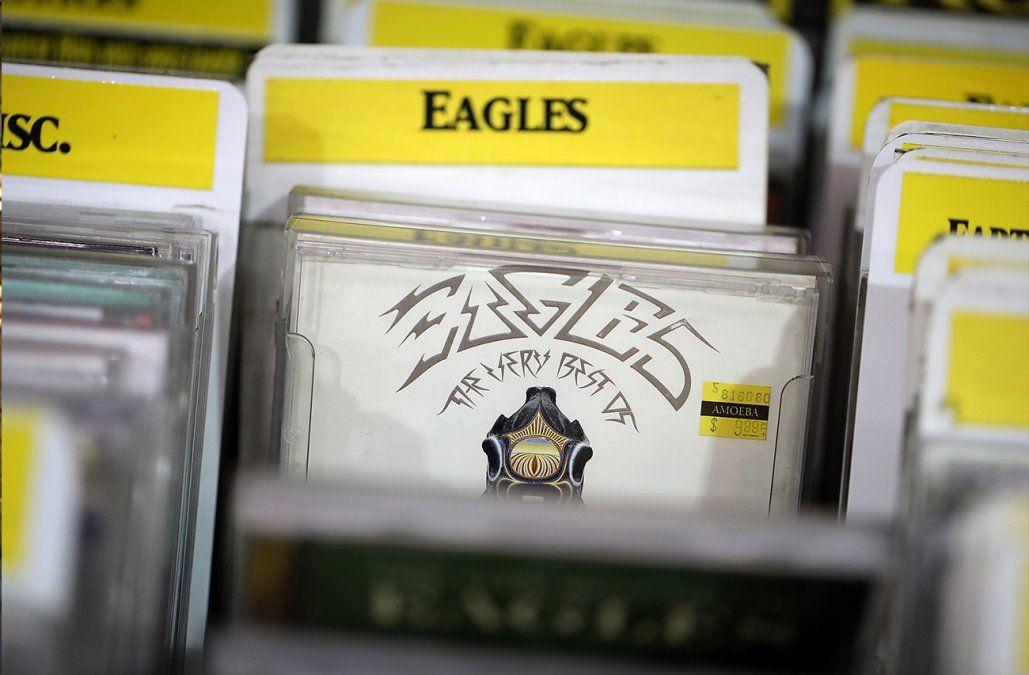 Eagles desbanca a Michael Jackson con el disco más vendido del mundo