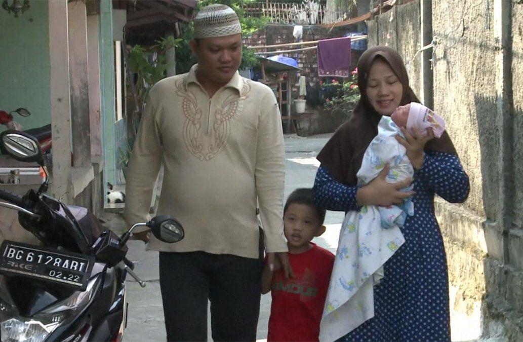 Pareja bautizó a su beba como Juegos Asiáticos por nacer el día de apertura del evento