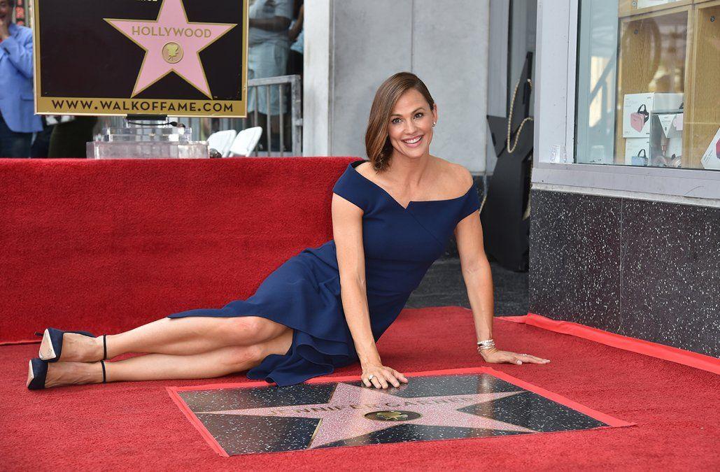Jennifer Garner recibió su estrella en Hollywood