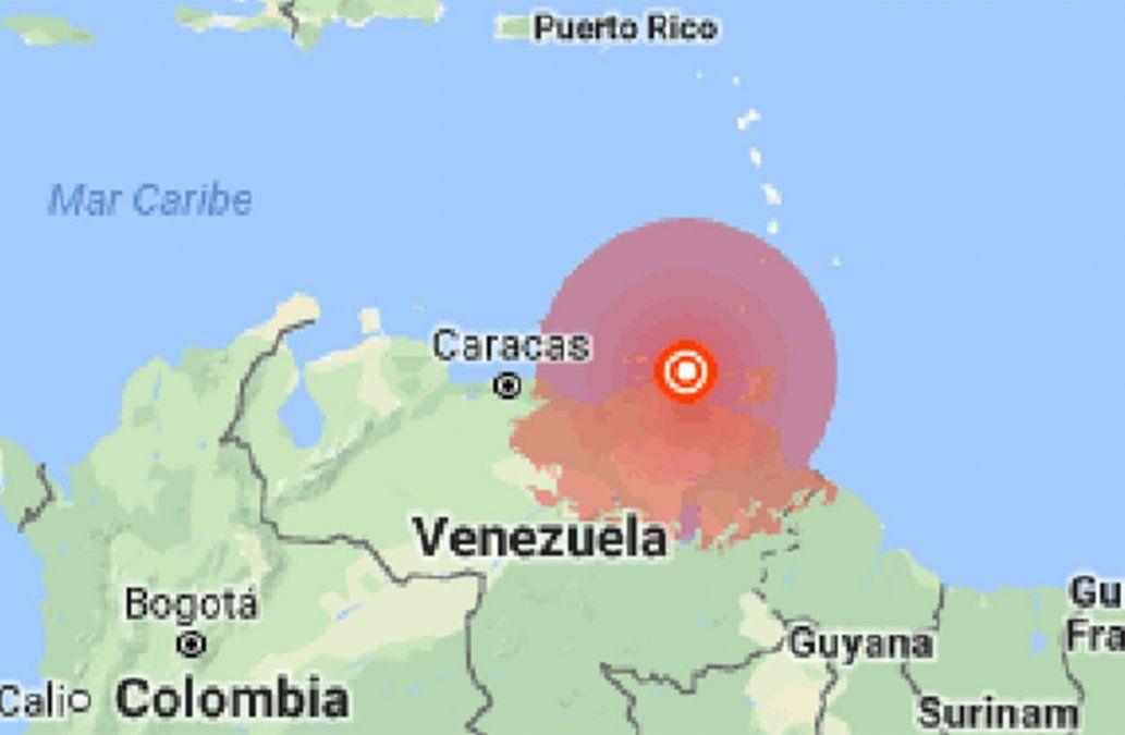 Sismo 7.0 sacude Venezuela