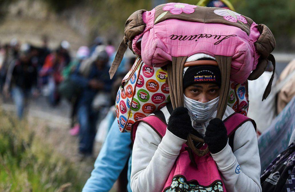 Migrantes: Estar en otro sitio es mejor que estar en Venezuela