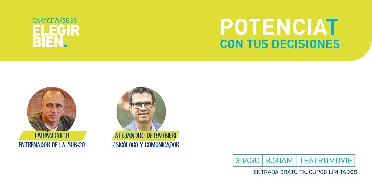 AFAP SURA te invita a potenciarte con Alejandro De Barbieri y Fabián Coito