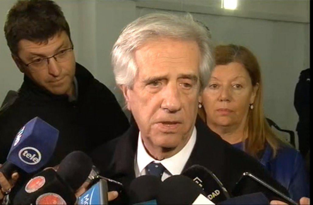 Vázquez pidió identificar qué empresas argentinas investigadas operan en Uruguay