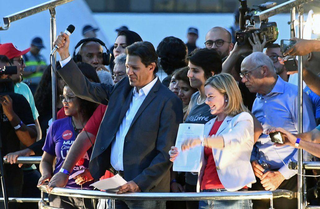 Candidato a vice de Lula advierte del riesgo de no aceptar la soberanía popular