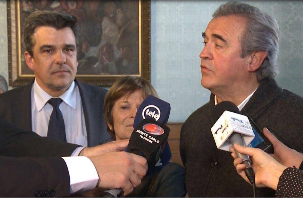 Senador blanco entregó 10.000 firmas a Larrañaga recogidas en San José