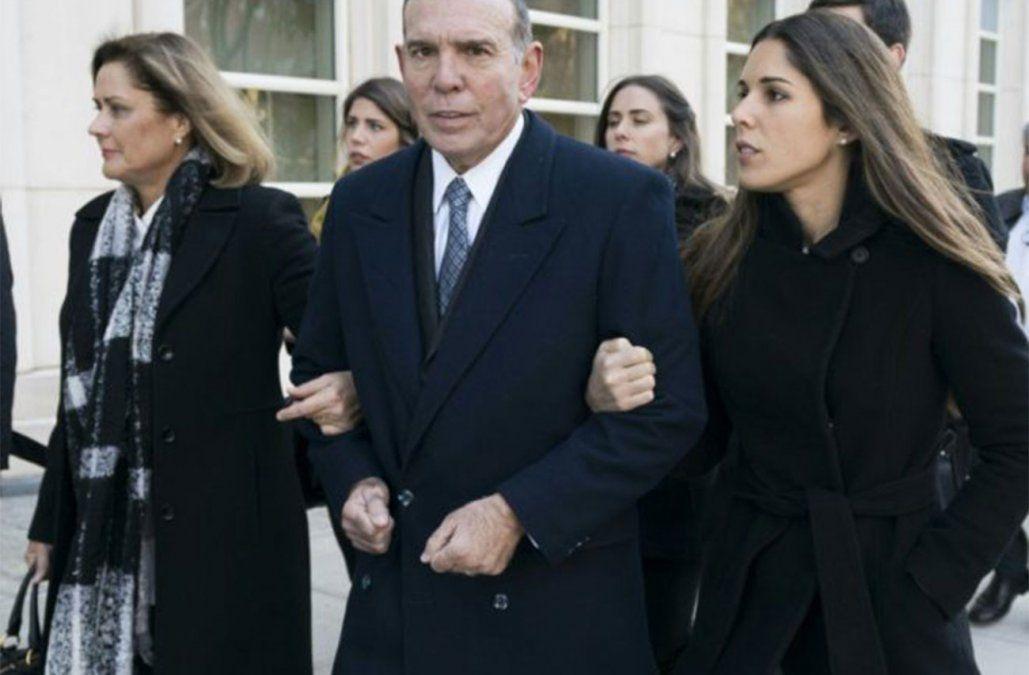 El expresidente de la Conmebol Juan Ángel Napout llega a un juzgado en Brooklyn