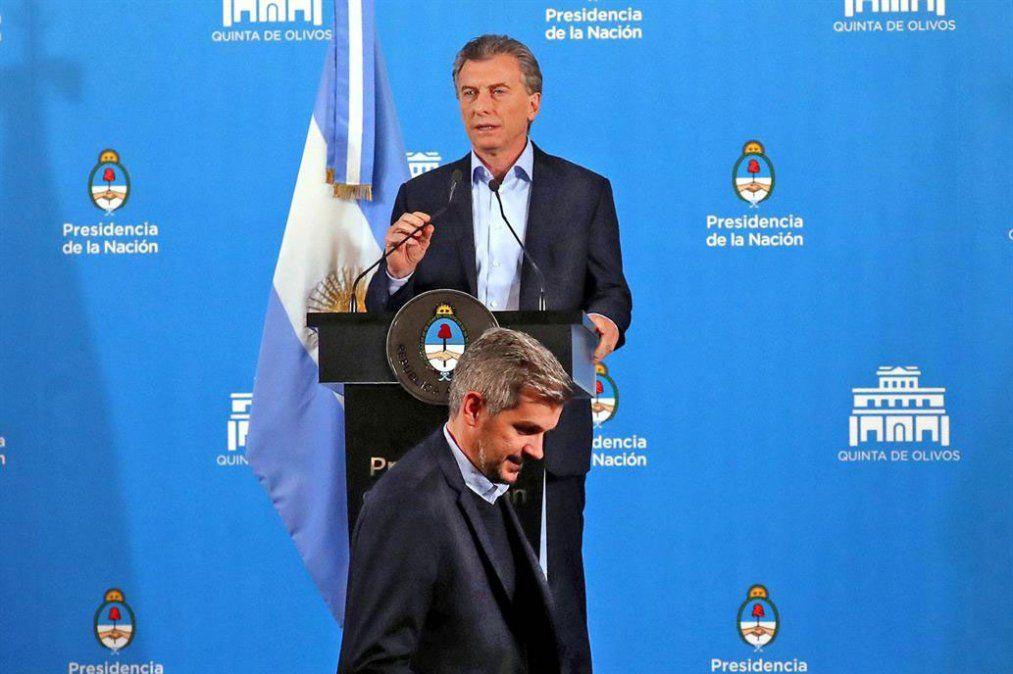 Macri y Peña