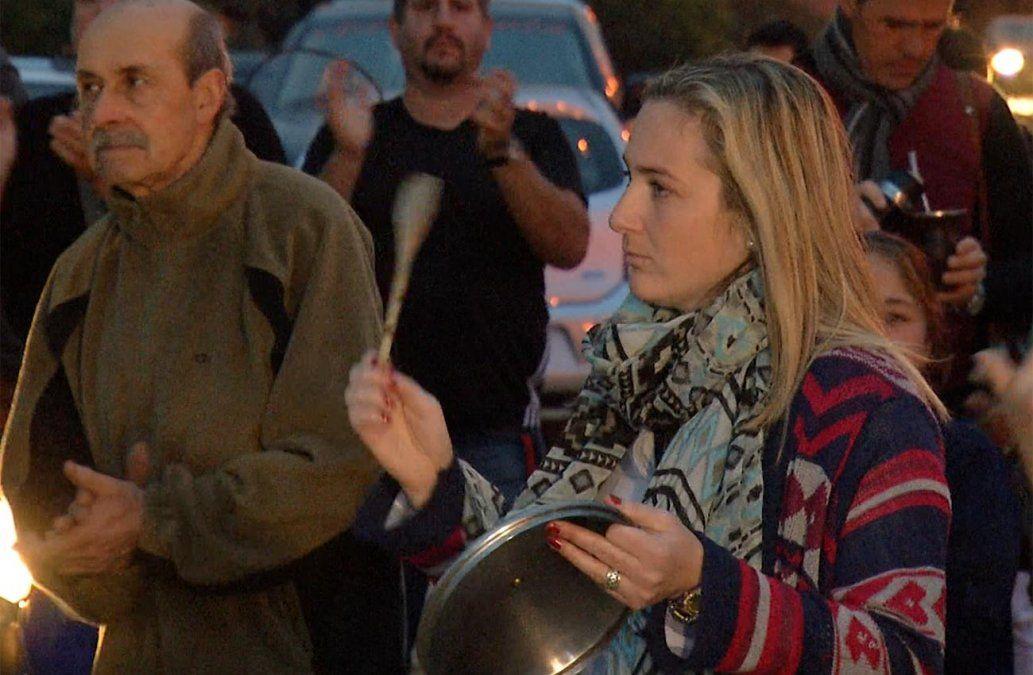 300 vecinos de Solymar salieron a las calles en reclamo de seguridad