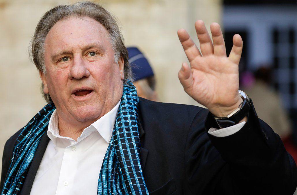 Gérard Depardieu acusado por violación contra una joven actriz en 2018