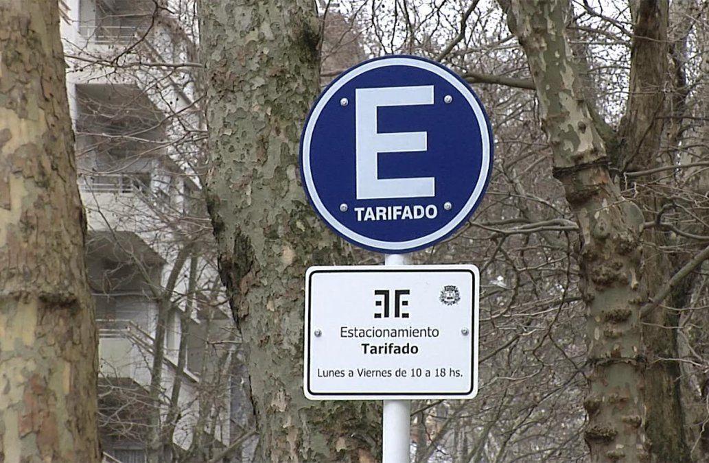 Este lunes comienza a regir la ampliación del estacionamiento tarifado en Municipio B