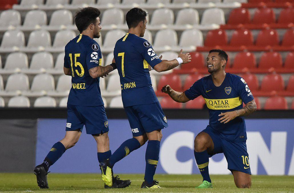 Sin mucho esfuerzo, Boca goleó 4 a 2 a Libertad y clasificó a cuartos