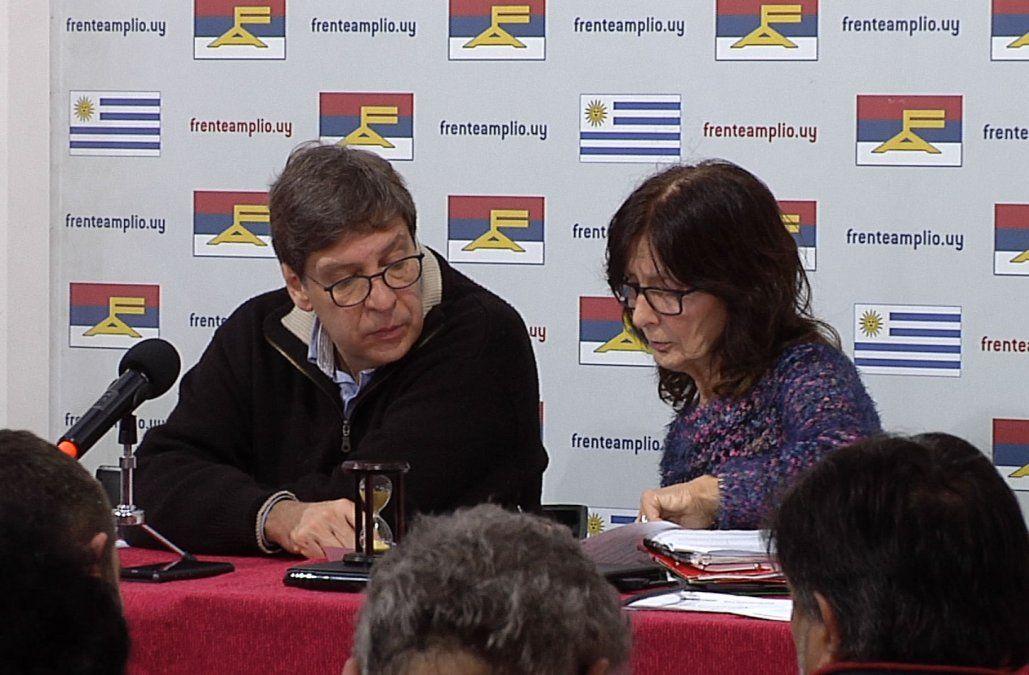 FA aplazó hasta octubre tema de precandidaturas presidenciales
