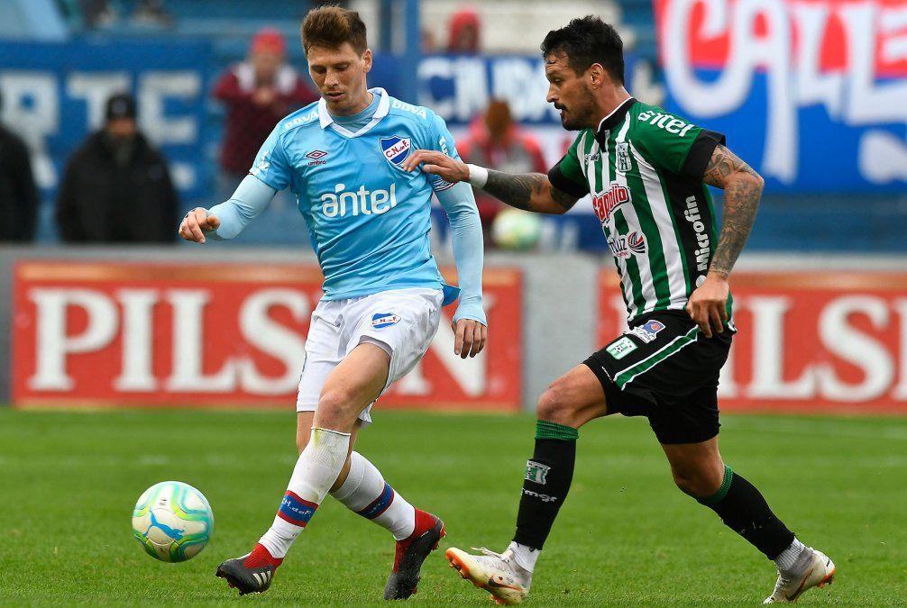 Nacional le ganó 1-0 a Racing y asumió la punta del Clausura