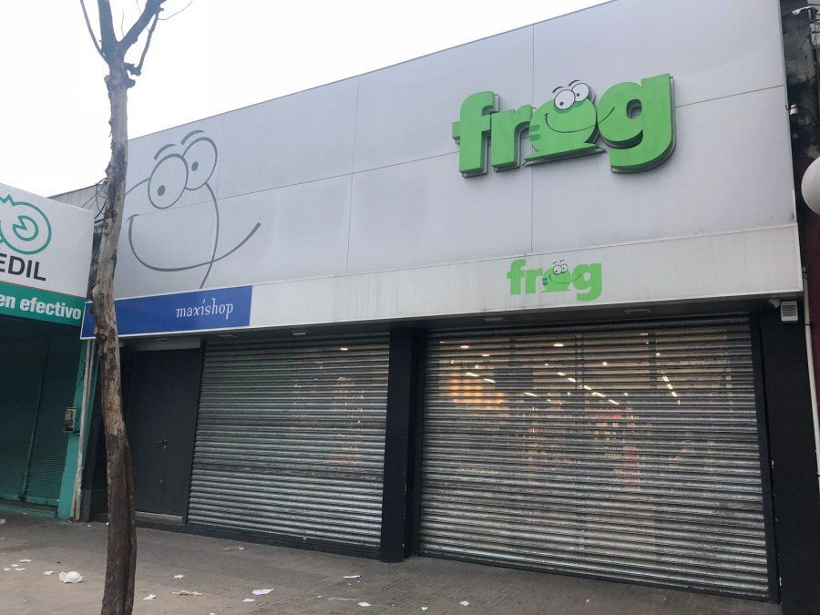Persecución por los techos tras robo a supermercado en la Unión