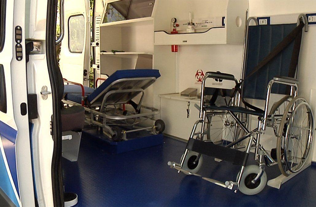 Desvalijaron una ambulancia de Salud Pública en la puerta de una policlínica