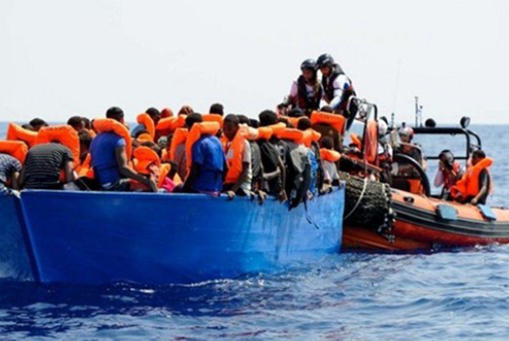Más de 600 migrantes rescatados en un día en el Mediterráneo español