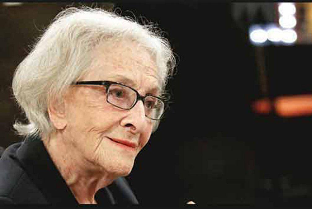 La uruguaya Ida Vitale obtiene el máximo galardón de Literatura de México