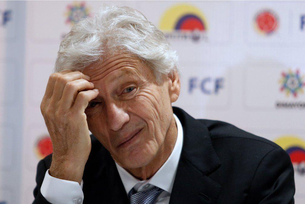 José Pekerman dejó la dirección técnica de la selección de Colombia