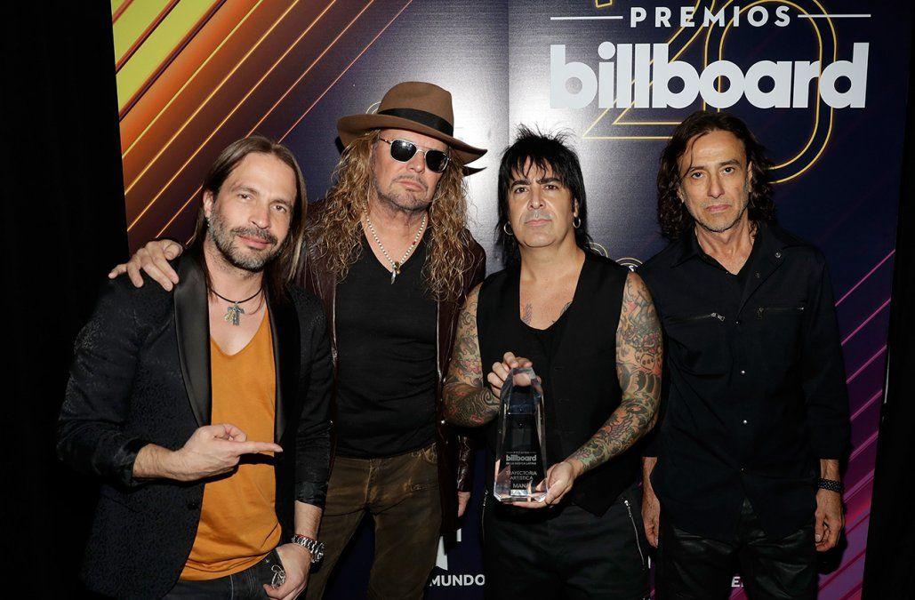 Maná será homenajeada como Persona del Año en el Grammy Latino