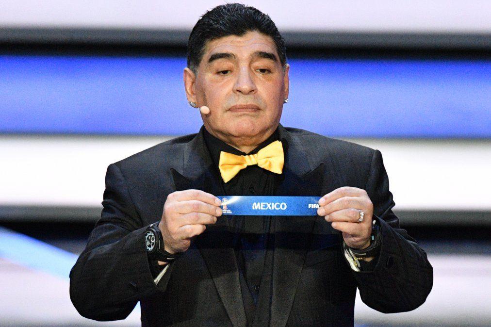 Maradona regresa a México como DT de Dorados de la segunda división