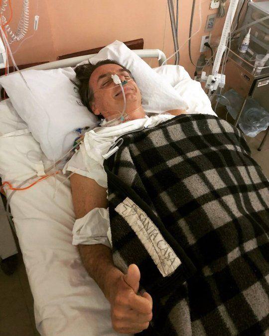 Yo nunca le hice mal a nadie, dIjo Jair Bolsonaro al día siguiente de ser apuñalado
