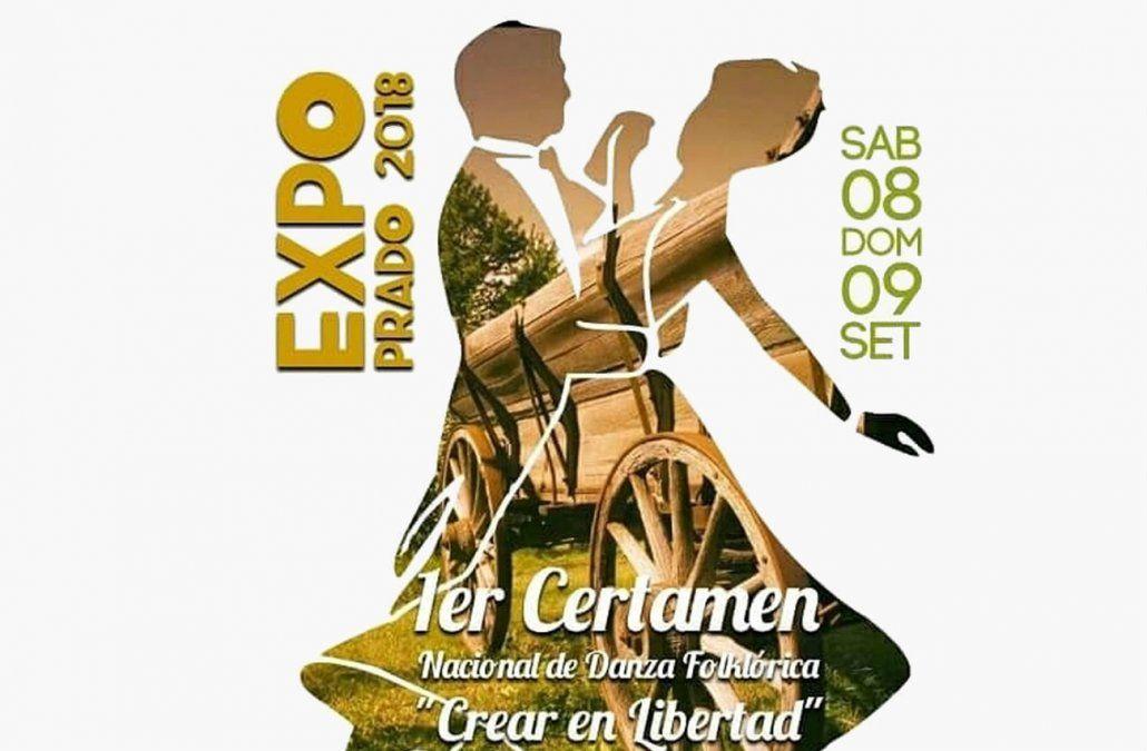 Se realiza en la Expo Prado un Concurso de Danza Folklórica y Malambo